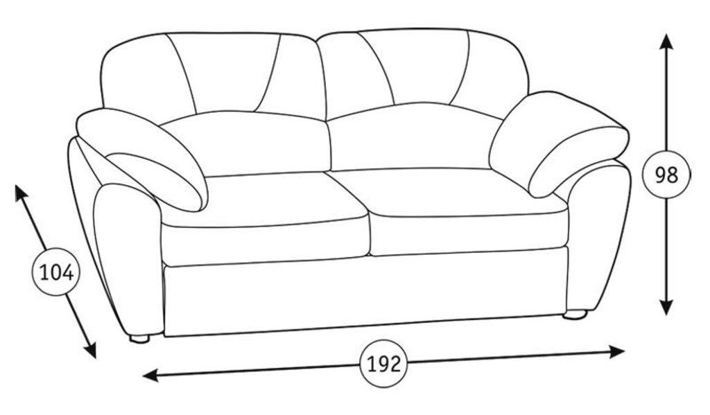Диваны Фламенко: Диван-кровать Фламенко (150) Арт. 40423/1 в Диван Плюс
