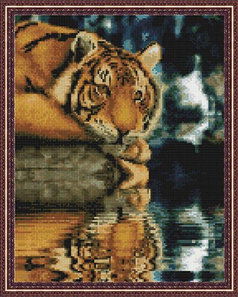 Наборы картин со стразами: Алмазная мозаика 40х50, круглые стразы CK2770 Наблюдатель в Шедевр, художественный салон