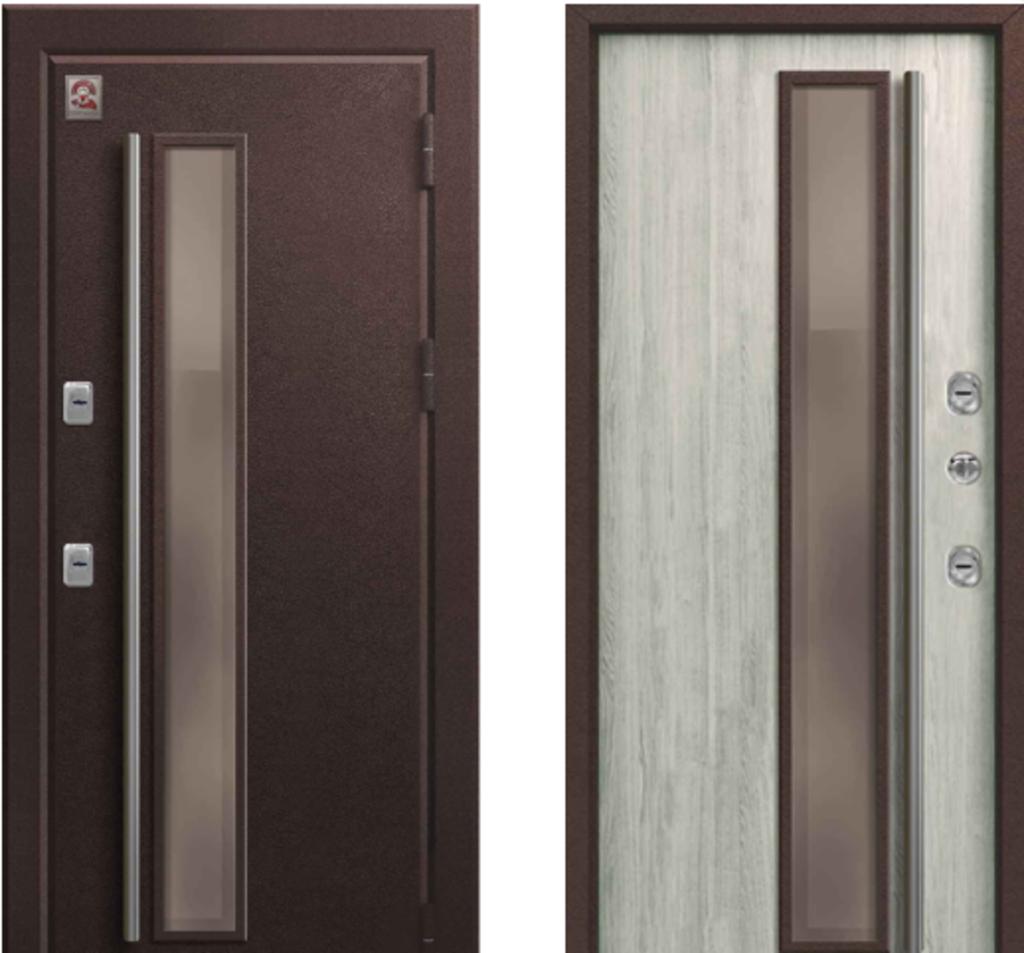 Двери Центурион: Центурион Т4 Premium Полярный дуб в Модуль Плюс