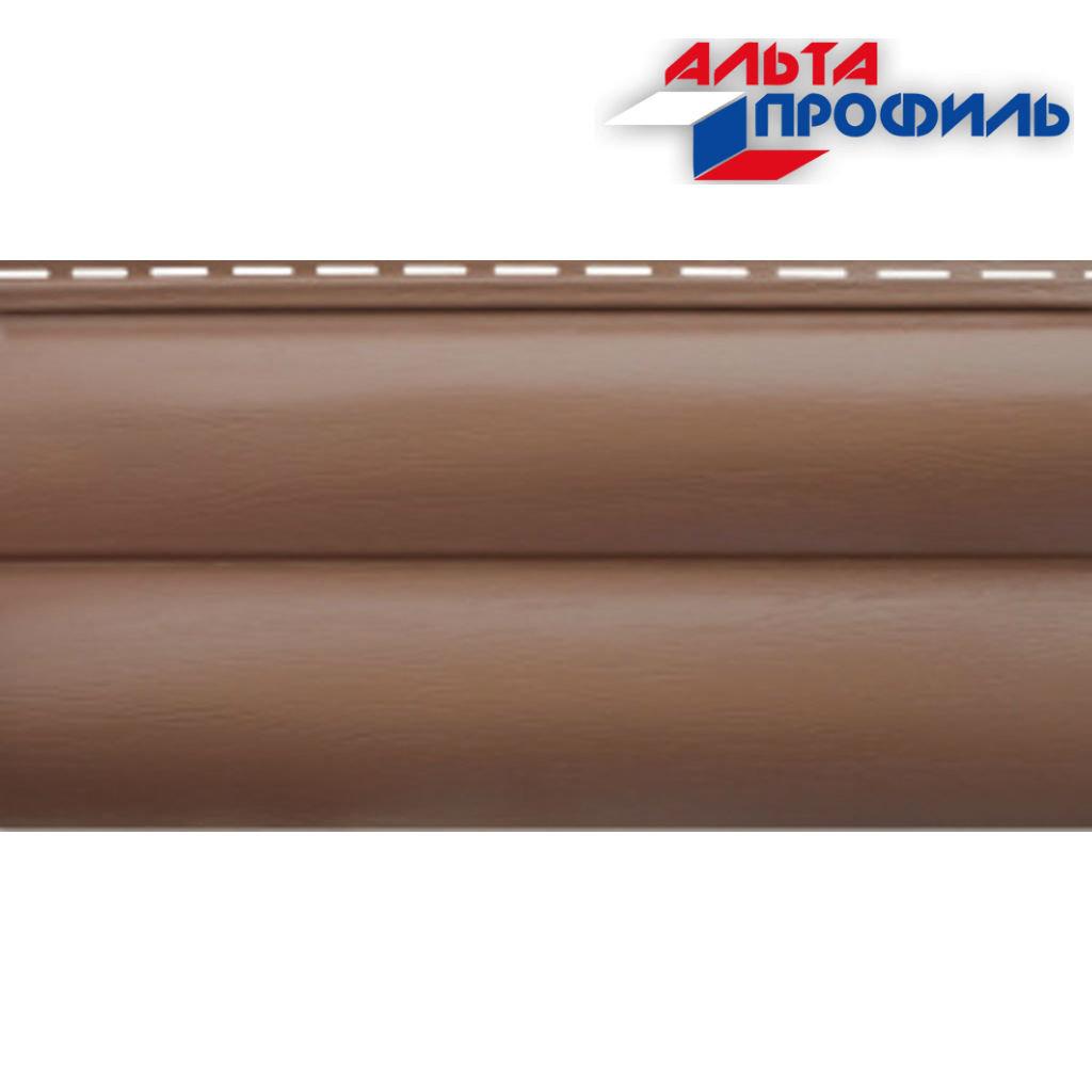 """Акриловый сайдинг: Блокхаус акриловый """"Красно-коричневый"""" BH-02 - 3,10м х 0,32м, Красно-коричневый в АНЧАР,  строительные материалы"""