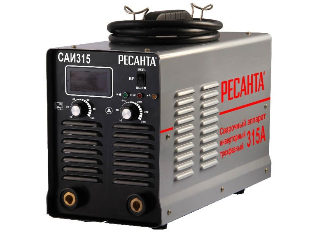 Сварочные аппараты инверторные: Инверторный сварочный аппарат РЕСАНТА САИ-315 в РоторСервис, сервисный центр, ИП Ермолаев Д. И.