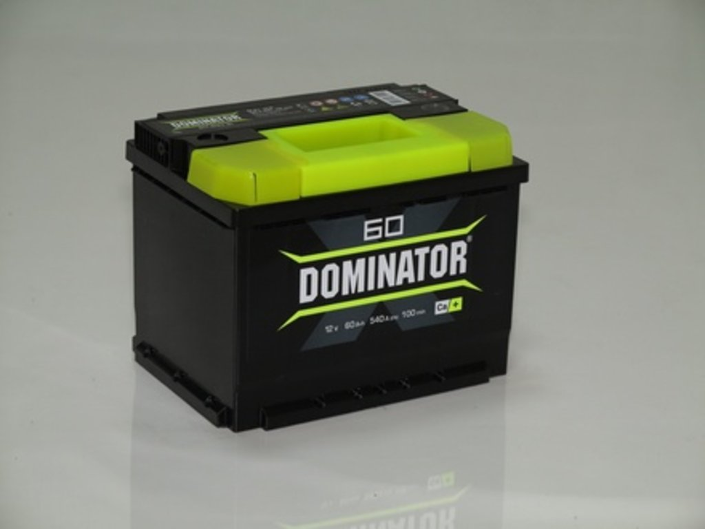 Аккумуляторы автомобильные: DOMINATOR 60 А/Ч L в Мир аккумуляторов