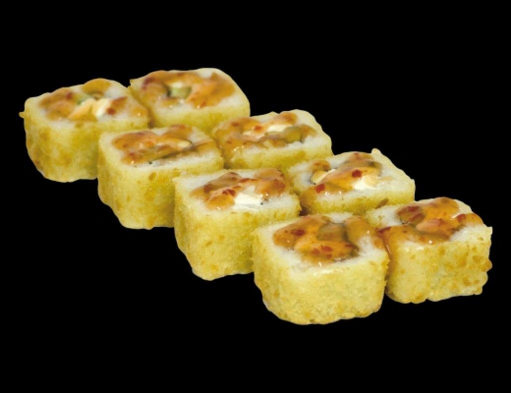 Темпура роллы: Теплый ролл с креветкой в ХИТО СУШИ