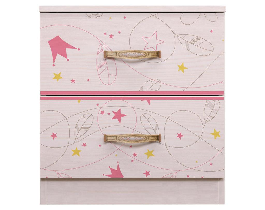 Тумбочки детские: Тумба 07 Принцесса в Стильная мебель