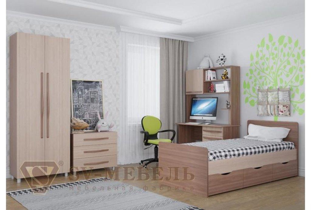 Мебель для детской Алекс-1: Полка-надстройка к столу Алекс-1 в Диван Плюс