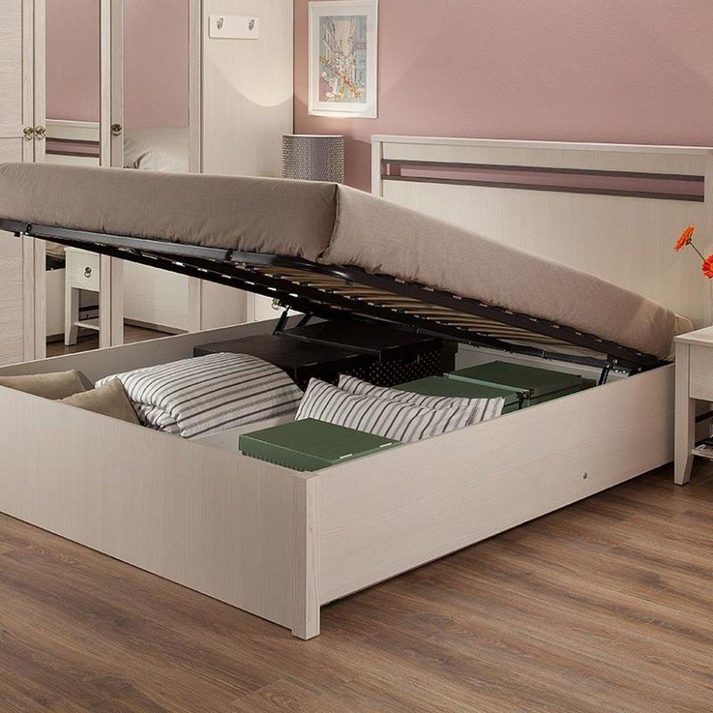 Кровати: Кровать Бриз 33.2 (1400, мех. подъема) в Стильная мебель