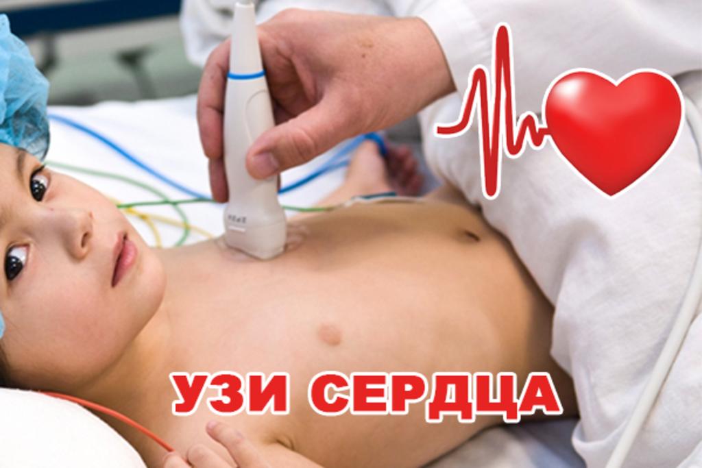 Медицинские услуги: УЗИ сердца в Витамин