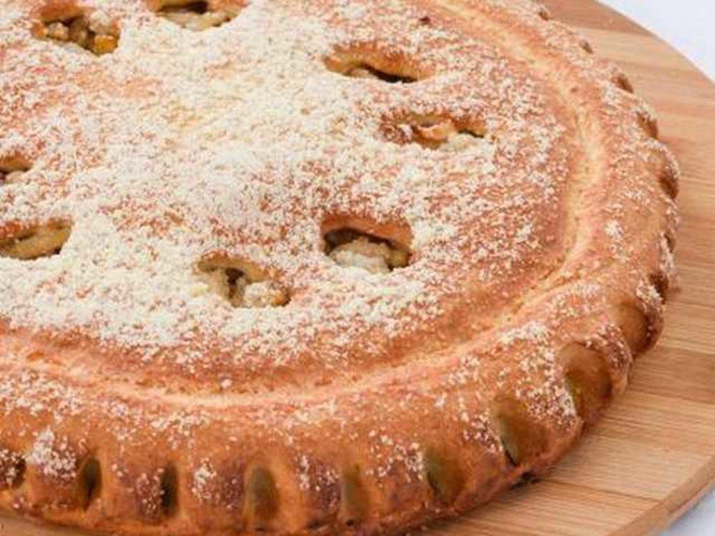 Сладкие: Пирог с бананом и яблоком в Провиант