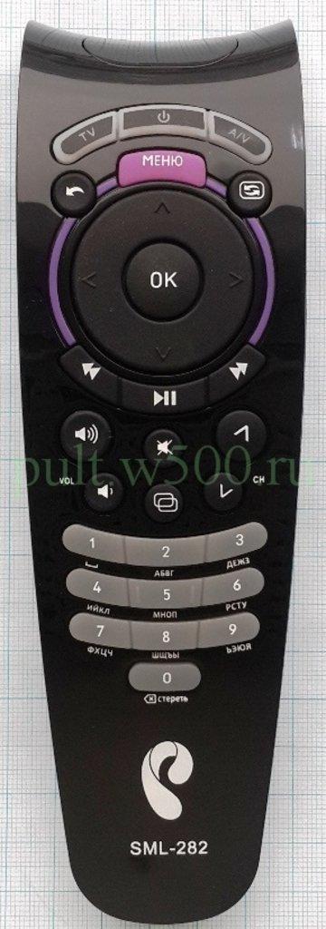 Для Ростелеком: Пульт Ростелеком SML-282 HD Base ( IPTV приставка ) SG в A-Центр Пульты ДУ