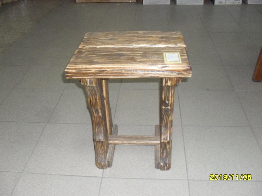 Мебель для саун и бань: Табурет состаренный (массив ХВОЯ) в Погонаж