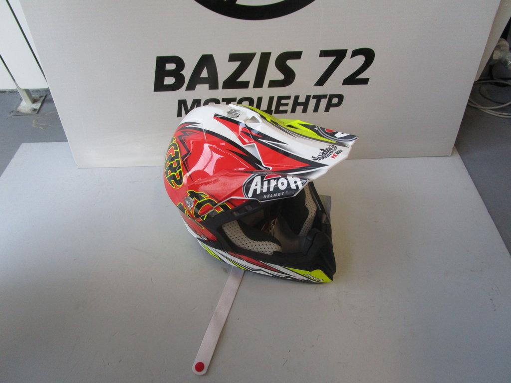 Экипировка и аксессуары: Шлем AIROH CR1TC14-L CR901 в Базис72
