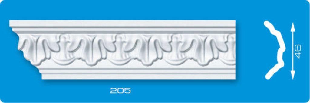 Плинтуса потолочные: Плинтус потолочный ЛАГОМ Ламинированный 205 экструзионный длина 2м в Мир Потолков