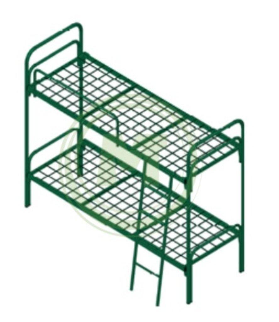 Кровати металлические: Кровать двухъярусная металлическая К.722.23 в Техномед, ООО