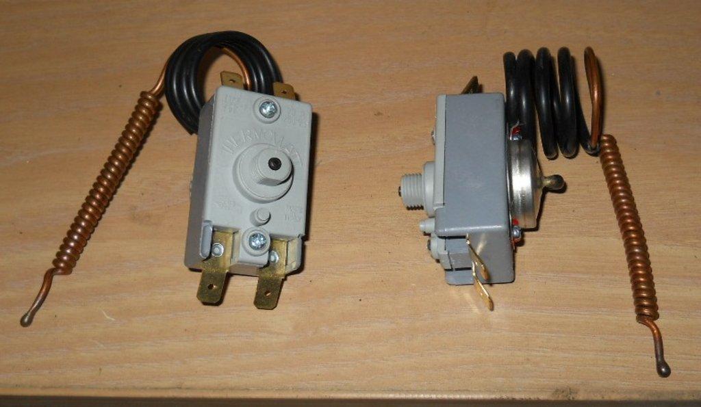 Запчасти  для водонагревателей: Термостат защитный для водонагревателей 105°C, 20A, (4 клеммы), 65150785 в АНС ПРОЕКТ, ООО, Сервисный центр
