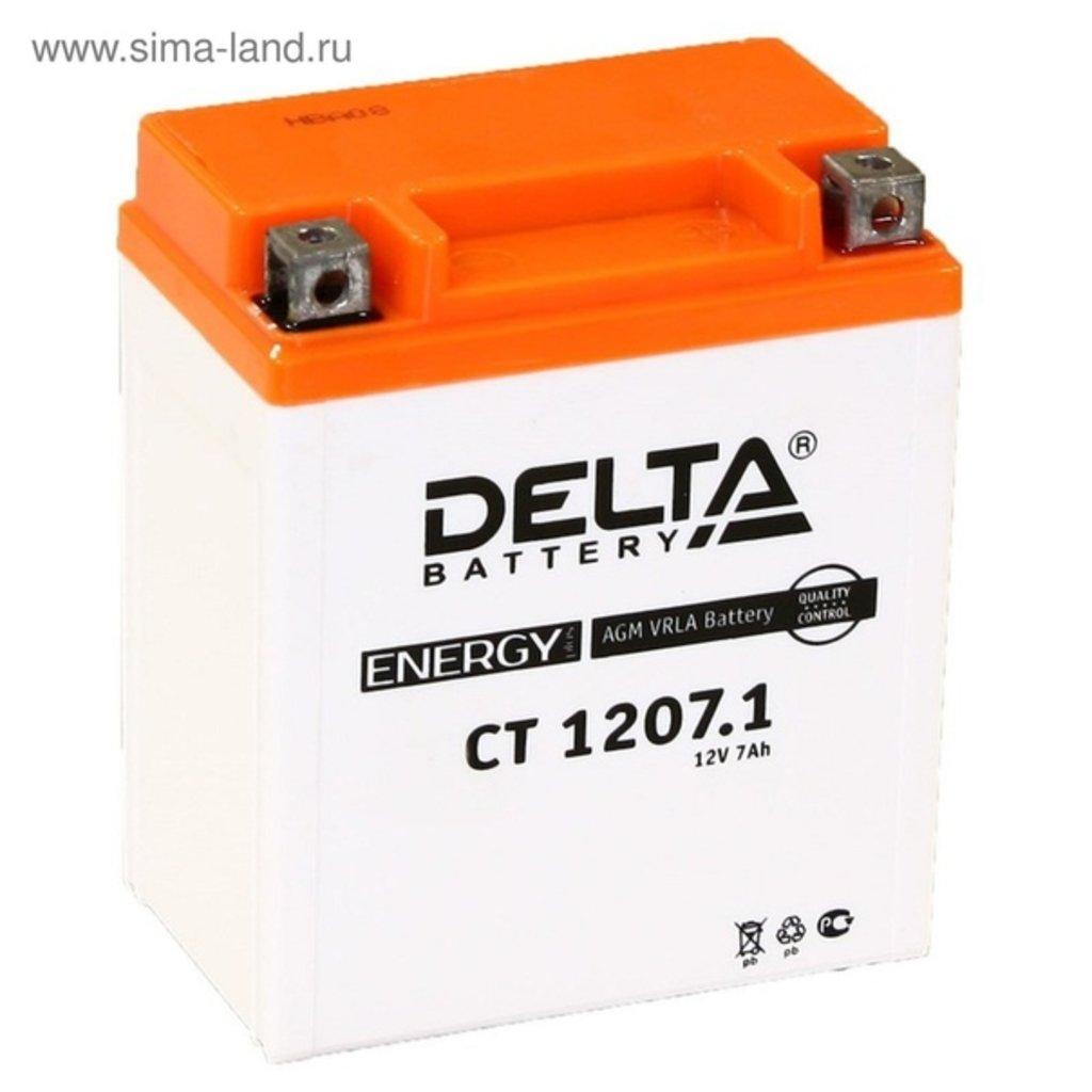 Delta: DELTA CT 1207.1 в БазаАКБ