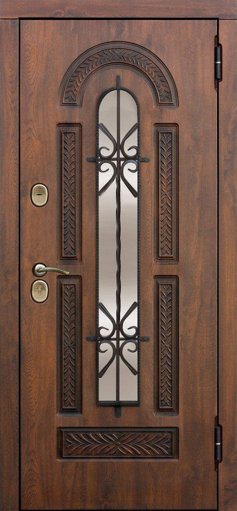 Входные двери (премиум)  от 90-110мм: Входная дверь  VIKONT в Пластиковые окна в Сургуте STEKLOMASTER