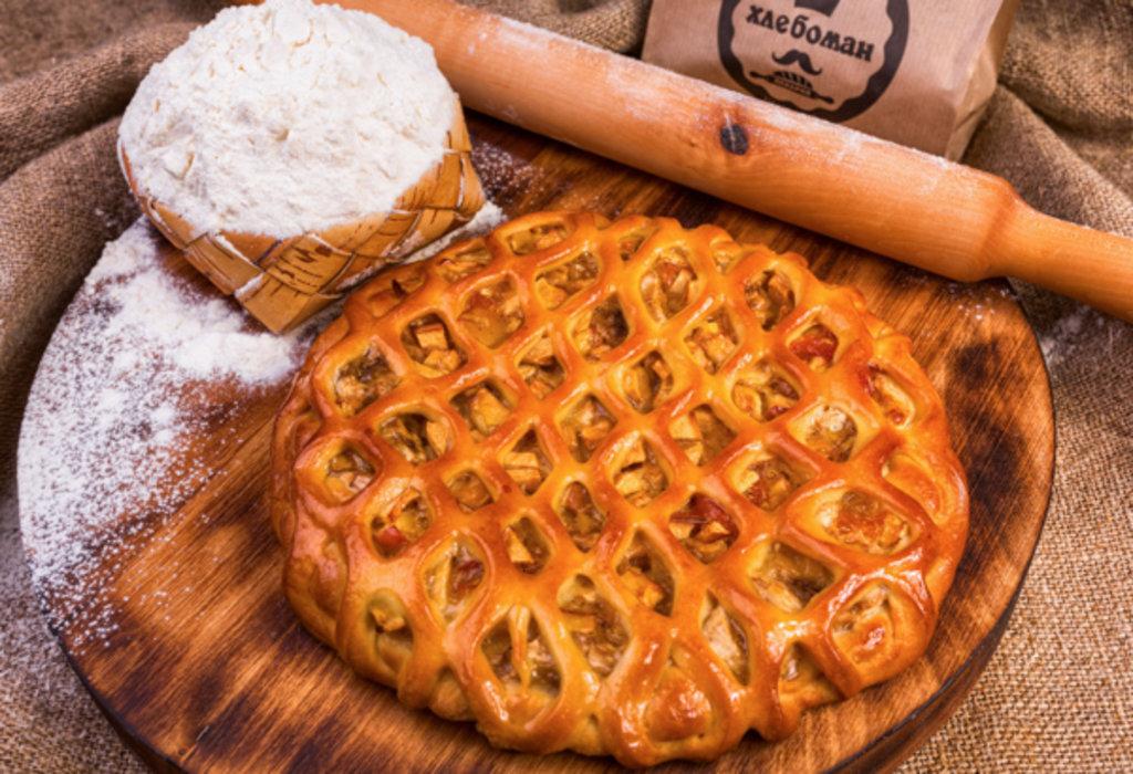 Сладкие пироги: Пирог с грушей и бананом в Хлебоман