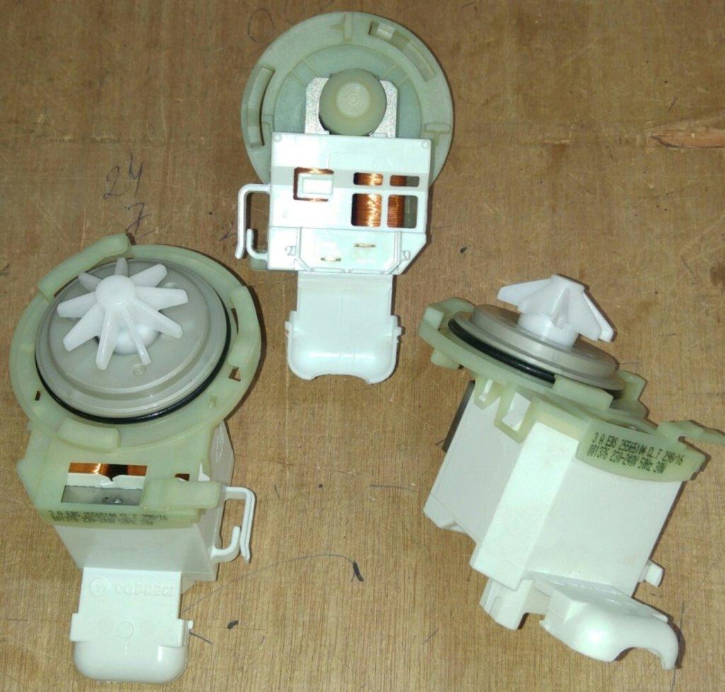 Насосы сливные для стиральных и посудомоечных машин: Сливной насос для посудомоечных машин (ПММ) Bosch , Siemens, Neff, 10cp11, 00423048, BO5430, 10cp08, 82001507, 63BS150 в АНС ПРОЕКТ, ООО, Сервисный центр