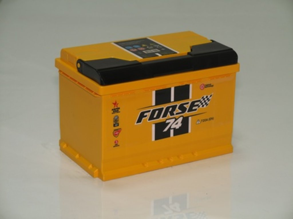 Аккумуляторы автомобильные: FORSE 74 А/Ч L в Мир аккумуляторов