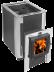 Печи и дымоходы: Печь для бани Термофор ДоброПар Carbon 18 закр.каменка чуг дверца со стеклом антрацит в Погонаж
