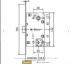 Замки: Замок Морелли. Сантехнический бесшумный WC-1895P в Двери в Тюмени, межкомнатные двери, входные двери