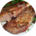 Горячие блюда: Свиная корейка на кости с соусом в Обеды в офис Красноярск