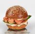 """Бургеры с рыбой: Бургер """"с Лососем"""" в The Угли"""