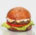 "Бургеры с котлетой из говядины: Бургер ""The Чизбургер"" в The Угли"