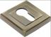 Накладки: Накладка на цилиндр Ручетти RAP KH-S AB в Двери в Тюмени, межкомнатные двери, входные двери
