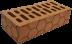 Стеновые блоки: Кирпич красный рельефный М125 в 100 пудов