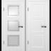 Межкомнатные двери: Межкомнатная дверь Трио   ДО / ДГ в Двери в Тюмени, межкомнатные двери, входные двери