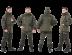 Экипировка и аксессуары: Костюм «Скат Зима NEW» (таслан, хаки) (комбинезон) GRAYLING -45 в Базис72