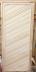 """Двери для саун и бань: Дверь 800х1900 мм. глухая (липа) на петлях сорт """"экстра в Погонаж"""