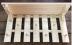 Вешалки и полки для одежды: Вешалка с полкой для шапок 7 крючков в Погонаж