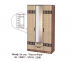 Шкафы для спальни: Шкаф 3-х створчатый Коста-Рика в Стильная мебель