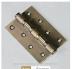 Петли Морелли: Петля Морелли стальная 100х75х2.5 4ВВ бронза в Двери в Тюмени, межкомнатные двери, входные двери